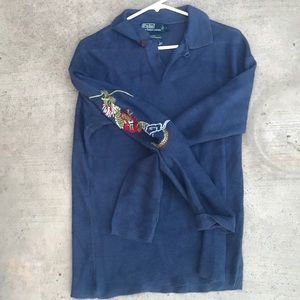 Ralph Lauren knot long sleeved shirt